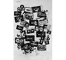 Cassettes Photographic Print