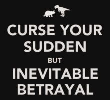 Curse Your Sudden But Inevitable Betrayal by Danni McGowan