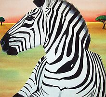 ZEBRA by Stacey Biggs