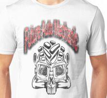 Skull Auto Mechanic Design Unisex T-Shirt