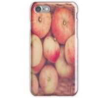 Basketful of Apples  iPhone Case/Skin