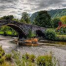 Pont Fawr Bridge by Adrian Evans