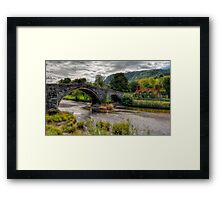 Pont Fawr Bridge Framed Print