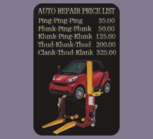 ☝ ☞ $ AUTO PRICE REPAIR TEE SHIRT $☝ ☞ by ╰⊰✿ℒᵒᶹᵉ Bonita✿⊱╮ Lalonde✿⊱╮