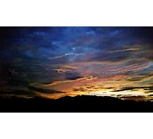 A Painted Morning Photographic Print