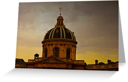 INSTITUT DE FRANCE (CARD ONLY) by Thomas Barker-Detwiler