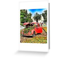 lovely Volkswagen beetle Greeting Card