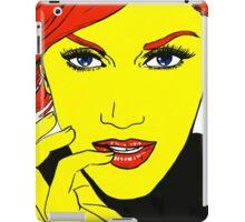 pop girl iPad Case/Skin