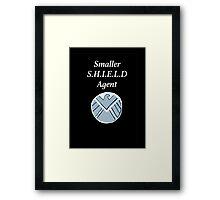 Smaller SHIELD Agent Framed Print