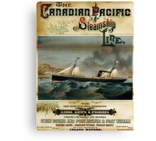 Vintage poster - Canadian Pacific Canvas Print