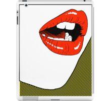 big lips iPad Case/Skin
