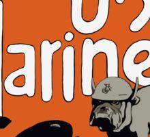 Devil Dog Recruiting Station - WW1 Marine Corps Sticker