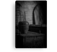 Urn Canvas Print
