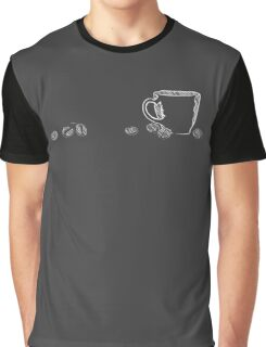 coffee cup chalk Graphic T-Shirt