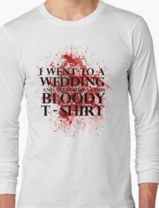 Game of Thrones - Red Wedding T-shirt Long Sleeve T-Shirt