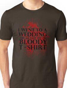 Game of Thrones - Red Wedding T-shirt Unisex T-Shirt