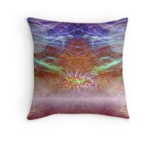 electrified-scallop Throw Pillow