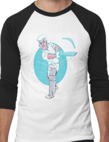 From the Happy Side. Men's Baseball ¾ T-Shirt