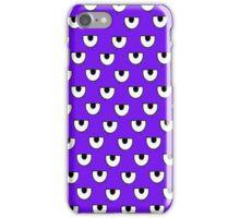 purple eyes iPhone Case/Skin
