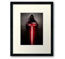 Star Wars - The Dark Side Framed Print