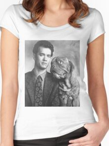 Tom Hanks  Women's Fitted Scoop T-Shirt