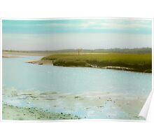Coastal Photography, Atlantic, Ocean Poster