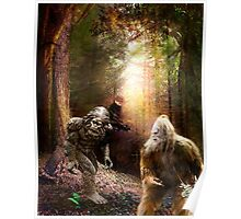 There Are No Humans in These Woods! Poster