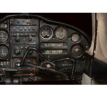 Airplane - Piper PA-28 Cherokee Warrior - A warriors view Photographic Print