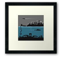 Ecology pollution Framed Print