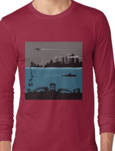 Ecology pollution Long Sleeve T-Shirt