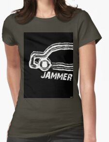 Tuam Slang T.Shirts. (Jammer) Womens Fitted T-Shirt
