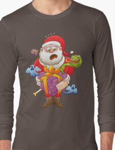 A Christmas Gift from Halloween Creepies to Santa Long Sleeve T-Shirt