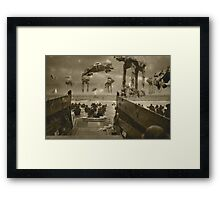 Beach landing Hoth Framed Print