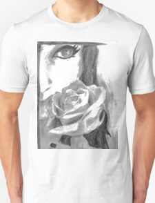 Girl with a rose T-Shirt