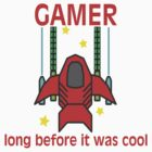 Gamer Before It Was Cool Retro Style by FireFoxxy