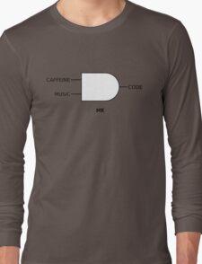 Code Machine Long Sleeve T-Shirt