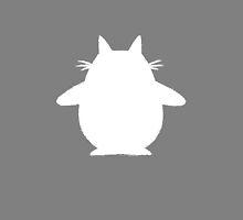 Totoro (white) by Lauramazing