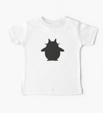 Totoro (black) Baby Tee