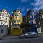 Painted Ladies - Central Ave by Richard Thelen