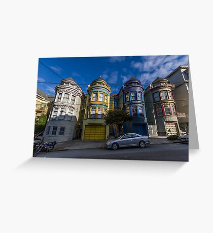 Painted Ladies - Central Ave Greeting Card