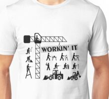 Workin It Blue Collar Workers Unisex T-Shirt