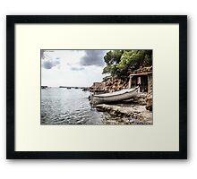 Ibiza Beach Framed Print