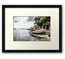 Ibiza Beach Framed Print