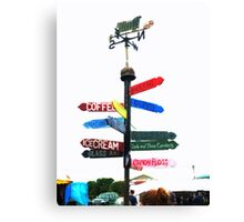 Show Me the way to go home Canvas Print