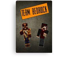Team Bedrock Poster Canvas Print