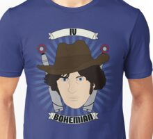 Doctor Who Portraits - Fourth Doctor - Bohemian Unisex T-Shirt
