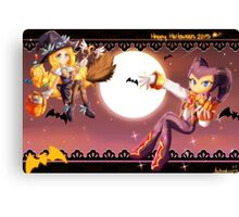 Halloween- NiGHTS and Maria Canvas Print