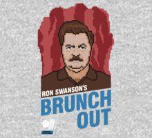 Ron Swanson's BrunchOut One Piece - Long Sleeve