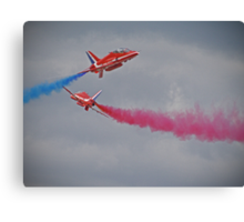 Red Arrows Close Pass - Dunsfold 2012 Canvas Print