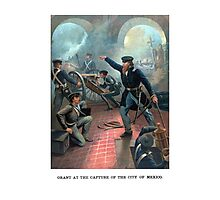 Grant At The Capture Of The City Of Mexico Photographic Print